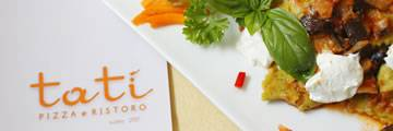 Restaurant Pizzeria Tatì with 10% discount menu and free shuttle